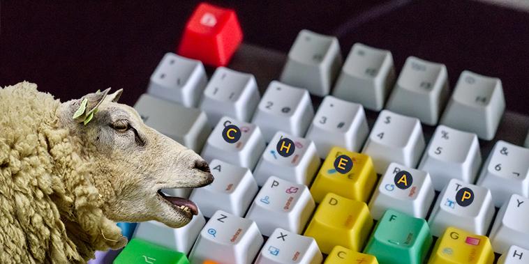 billigt gaming tangentbord