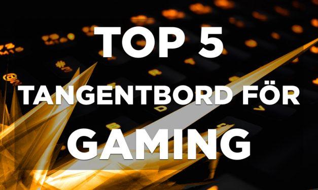 Gaming tangentbord – Topplistan 2018