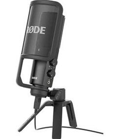Rode streaming mikrofon
