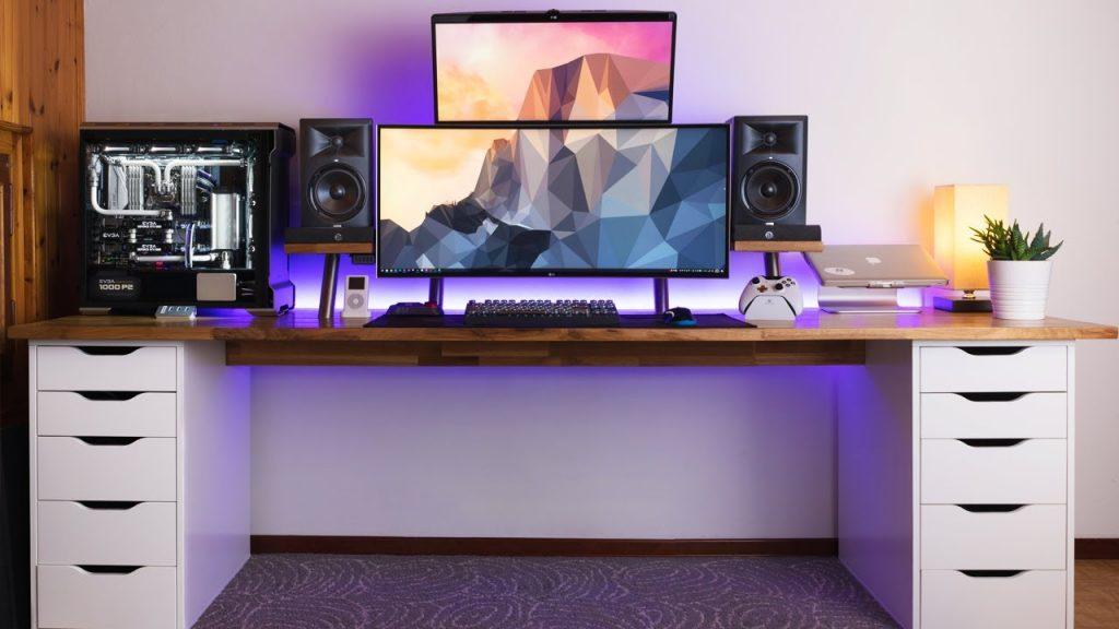 Tips på datorbord? (2 skärmar & datorn på bordet