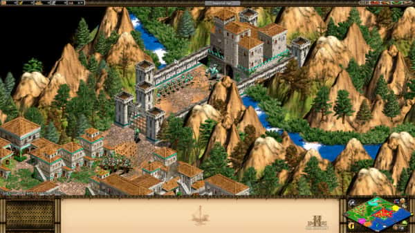 Andra bästa strategispelet Age of Empires 2