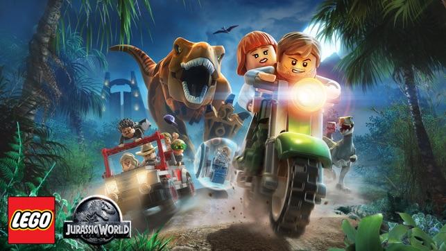 lego spel jurassic world