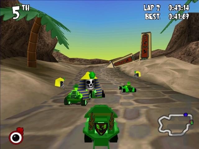 lego spel lego racers