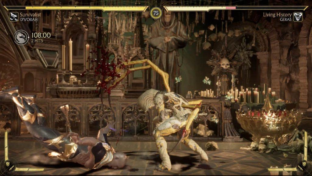 Mortal Kombat 11 fighting