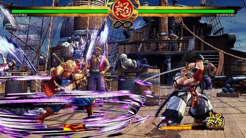 fightingspel samurai shodown