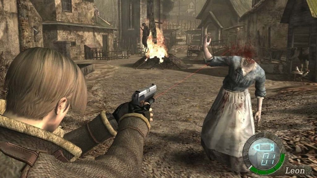 skräckspelet Resident Evil 4